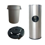 Trash Cans & Recycling Bins