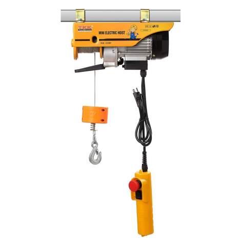 Mini Electric Hoist 440LBS 59FT Lift