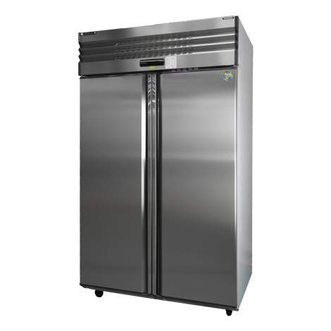 Two- Solid Doors Vertical Freezer 110V 14℉~-0.4℉ Made In Taiwan