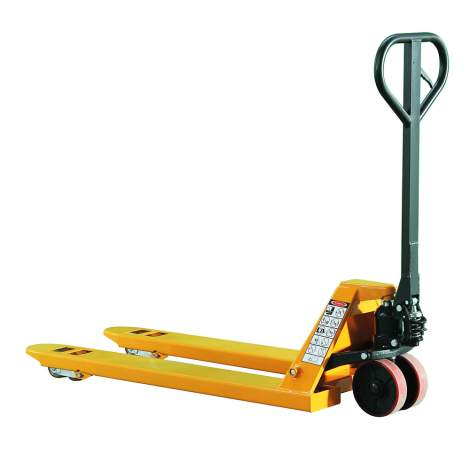 "Manual Pallet Jack Truck 4400 lbs Capacity 27""W x 45""L Fork"