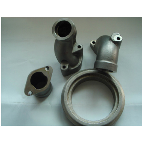 Made in China OEM Customized Iron Casting Pipe Parts