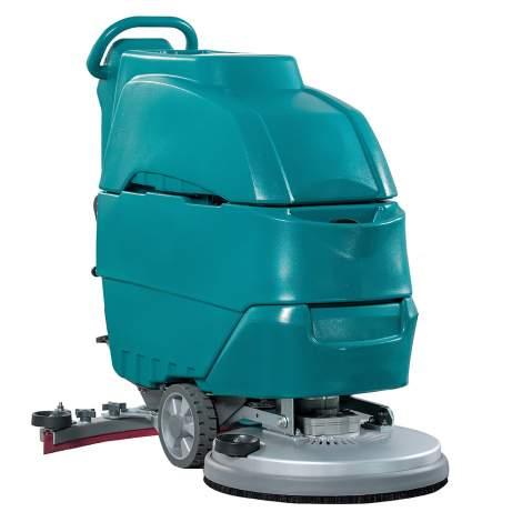 21'' 15Gal Walk Behind Auto Floor Scrubber 100Ah