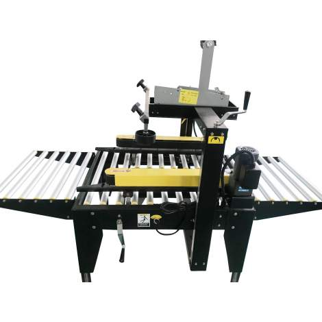 "2"" - 3"" W Tape H Semi-Automatic Carton Sealer side belt Drive"