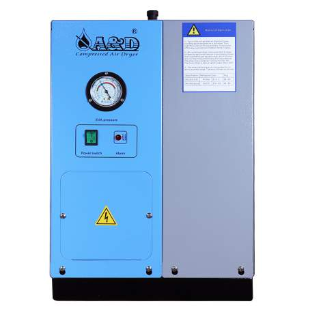Non-cycling Refrigerated Air Dryer 28CFM 5HP Compressor Made In Taiwan