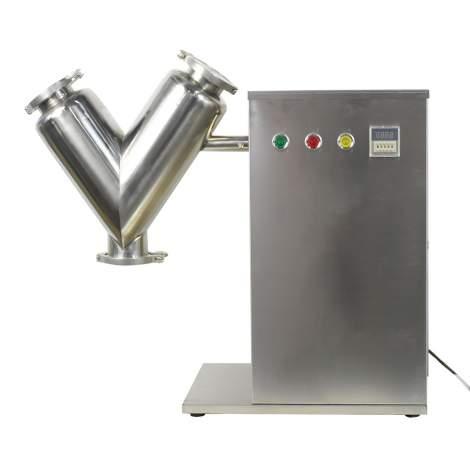 V Type Powder Mixer Blender Blending Machine 5L Barrel Capacity Powder Mixing Lab Mixer