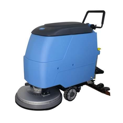 20'' Semi-Auto Walk-behind Floor Scrubber 12V/100Ah 14Gal