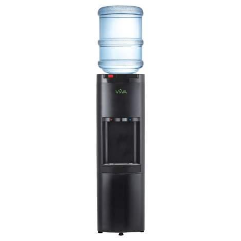 Top Loading Water Cooler Black