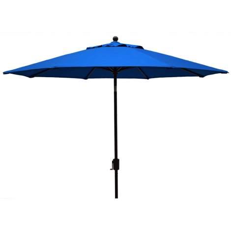 Market Aluminum 9' Octagon Crank Lift Umbrella Push Tilt umbrella-Blue