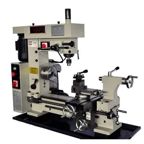 "Bolton Tools 16"" x 20"" Combo Metal Lathe Mill Drill | BT500"