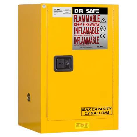 "Flammable Cabinet 12 Gallon 35"" x 23"" x 18""  Manual Door"