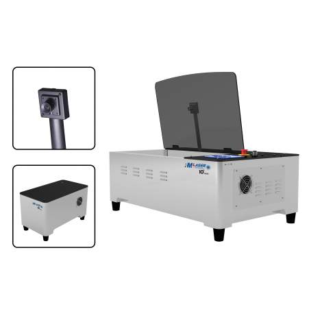 DIY Laser Cutter Built-In CAMERA Scan Photos for Cutting Engraving 40W
