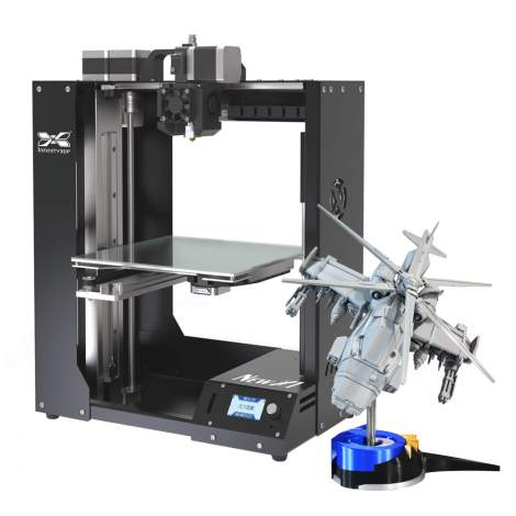 """FDM Industrial 3D Printer 0.02 MM High Precision 8.26"""" x 8.26"""" x9.45"""" Made In Taiwan"""