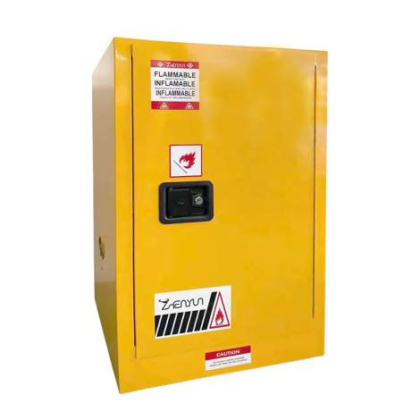 """12 Gallon Flammable Safety Cabinet Manual Close Door 35"""" x 23"""" x 18"""""""
