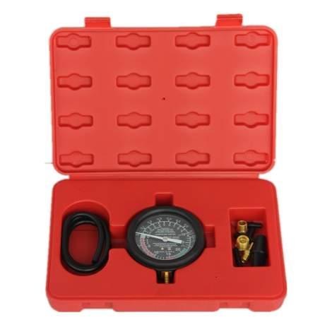 Carburetor Carb Valve Fuel Pump Pressure Vacuum Tester Gauge Test Kit
