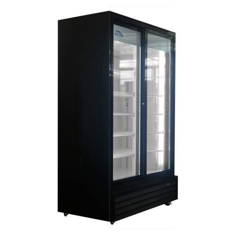 """44.5"""" Double Sliding Door Merchandiser Refrigerator 31 cu.ft /880 L"""