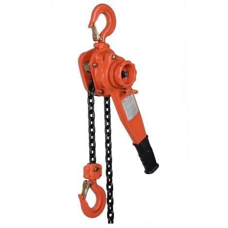 VITALI-INTL Lever Hoist 3300 Lb Load Capacity 10Ft Hoist Lift