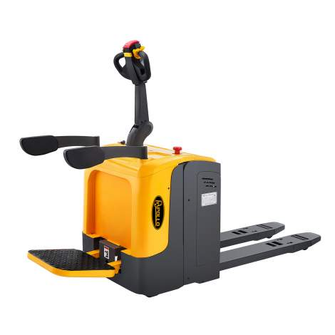 """Ride On Full Electric Pallet Jack Truck 5500lbs Capacity 48"""" x27"""""""
