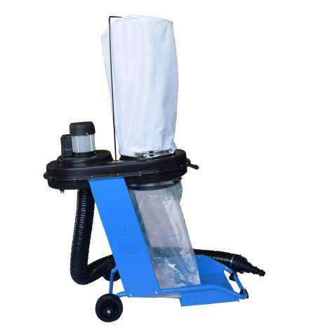 20 Gallon Portable Dust Collector System With Wheels 3/4 HP 10 Qty