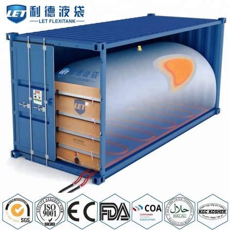 20ft Container Flexitank Container Price For Bulk Liquid