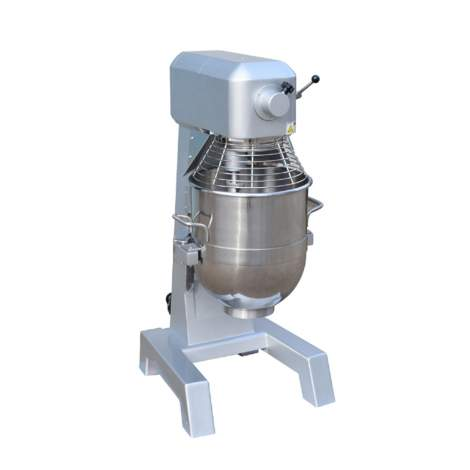 40QT.Commercial Planetary Floor Baking Mixer With Guard & Timer