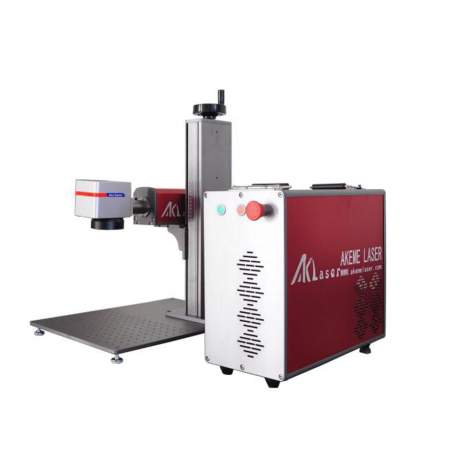 FDA Certified JPT 50W Portable Fiber Laser Marking Machine EZCad