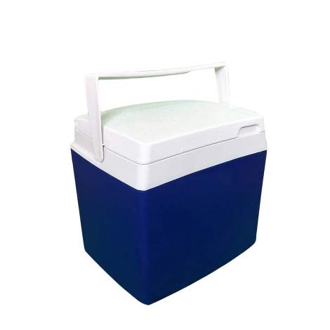 13pcs 28 Quart Cooler Ice Chest Cooler with White Bail Handle Blue
