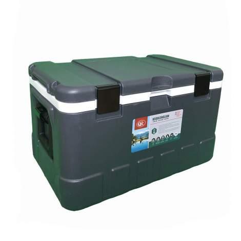 18pcs 79Qt Grey Ice Chest Cooler White Inner Box Grey Lid