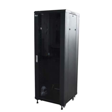 23.6''x23.6'' 32U Tempered Glass Front Door Standing Network Cabinet