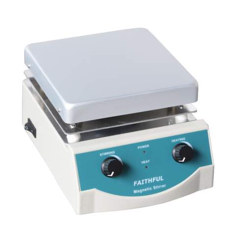 6.8 x 6.8in 5L Aluminum Plate Laboratory Magnetic Stirrer Hot Plate