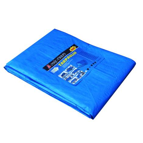 Qty 200 Poly Tarp12 ft.x16 ft. Blue2.9oz. All/Multi Purpose Waterproof