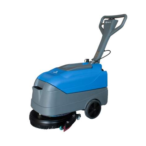 17'' 6 Gallon Compact Walk Behind Floor Scrubber
