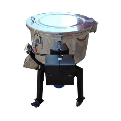 Plastic Granules Color Mixer Machine Powerful 2HP 460V Capacity 110lbs