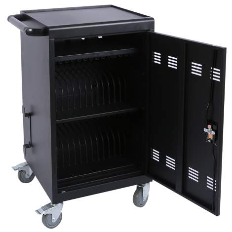 Mobile Charging Cart  for Tablets Chromebooks iPad Laptops 30-Device