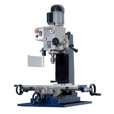 """ZX32G 27 9/16"""" x 7 1/16"""" Milling and Drilling Machine"""