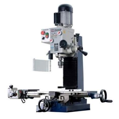 """ZX32GP 27 9/16"""" x 7 1/16"""" Milling and Drilling Machine with Powerfeed"""