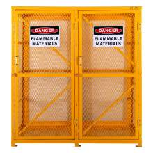 Cylinder Storage Cabinet Vertical 18 Cylinder Capacity Unassembled
