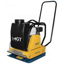 """Menegotti 17.7"""" x 21.6"""" Plate Compactor GX160 w/ Water and Wheels"""