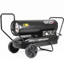 Kerosene Forced Air Heater 125,000 BtuH 3,000 sq. ft. 10gal. 0.95ghp.