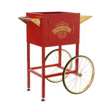 Trolley Cart  for 8 oz Popcorn Machine Color Red