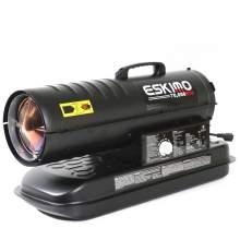 Kerosene Forced Air Heater 70,000 BtuH 1,600 sq. ft. 5gal. 0.53ghp.