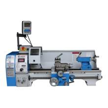 "Variable Speed 10"" x 22"" Benchtop Brushless Metal Lathe Digital DRO"