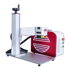 Top Grade JPT MOPA 50w Fiber Laser Marking Machine Metal Plastic FDA