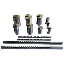Bolton Tools 12-264-S02 HSS. INCH SIZE KEYWAY BROACHE SET NO.10