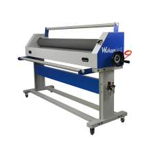 "Semi-auto Pneumatic Lifting Manual 63"" Wide Format Cold Roll Laminator p1"