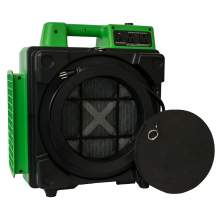 XPOWER X-2480A 3 Stage HEPA Purifier Mini Air Scrubber w/ Power Outlet