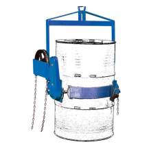 Vertical Drum Lifter Dispenser For 30 and 55 gal Drums 800lbs Capacity