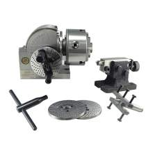 """Bodee BD0101001 BS0  Semi-universal Dividing Head With 5"""" 3-jaw Chuck"""