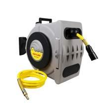 Low Pressure Retractable Air Hose Reel 3/8 inch 50feet