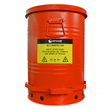 Oily Waste Can 10 Gallon Red