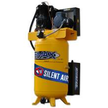 EMAX Industrial Plus 5 HP 1 PH 80 Gallon Vertical with Air Silencer